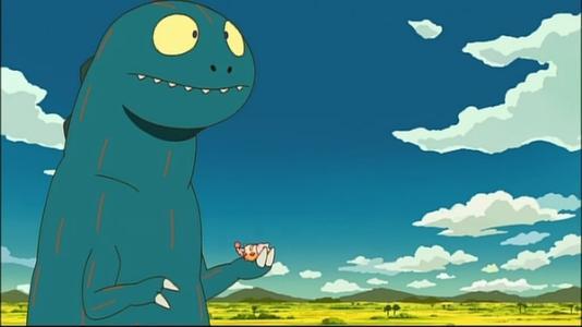 关于恐龙的日本动画电影七个字图片