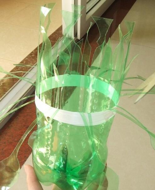 如何diy雪碧瓶制作花瓶方法图解