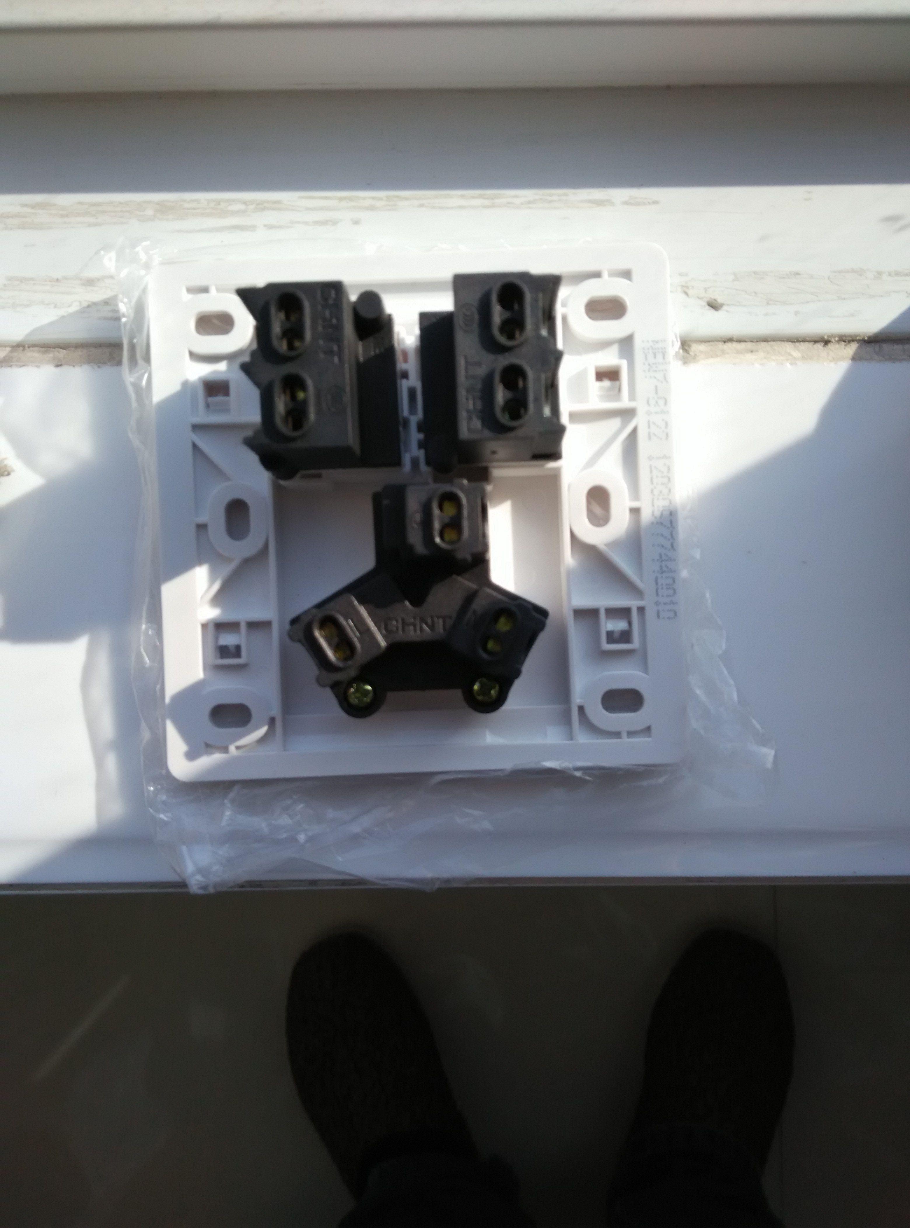 七孔插座怎么接线