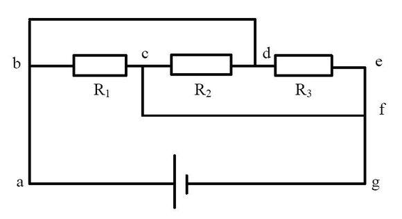 高中物理简化电路图