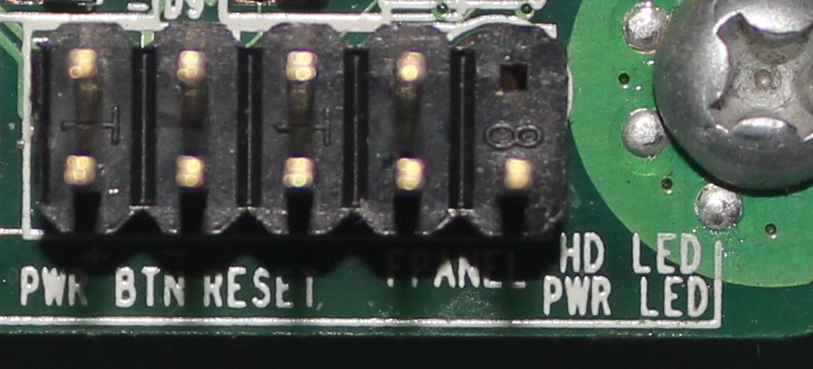 主板上的电源复位线怎么接 10 主板的接线插针是这样的,powersw(2pin