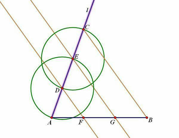 补充:画平行线可用圆规和直尺完成,非直角三角形的直角双边平移.图片