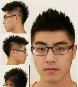 男生头大,脸圆,什么发型好看?不要短发,只要长发,不要图片