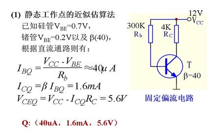 求画一个由npn三极管组成的小信号共射放大电路.