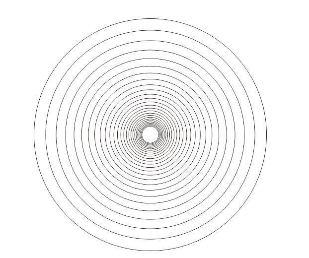 coreldraw x4怎么绘制同心圆图形?