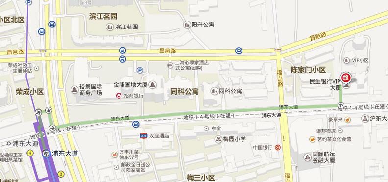 凌空路地铁站到浦东大道729号怎么乘
