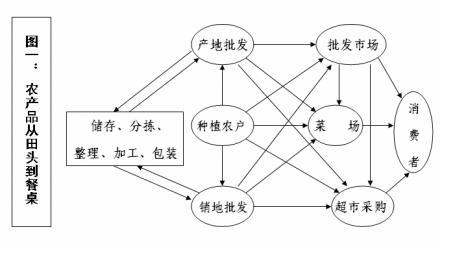 现有生鲜农产品供应链有哪些结构类型