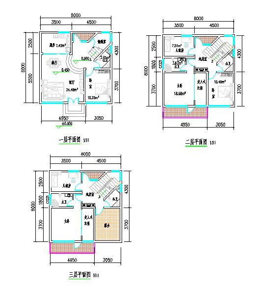 求房屋设计图一张!图片