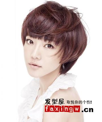女,16岁,脸尖,适合剪什么发型?不要推荐学生头. 请用心回答,谢谢!图片
