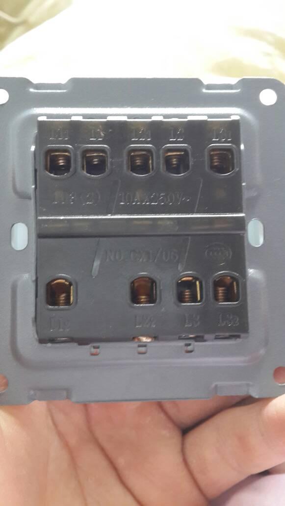 三个开关控制三个灯怎么接线,有一根火线三根零线,怎么接线呢?