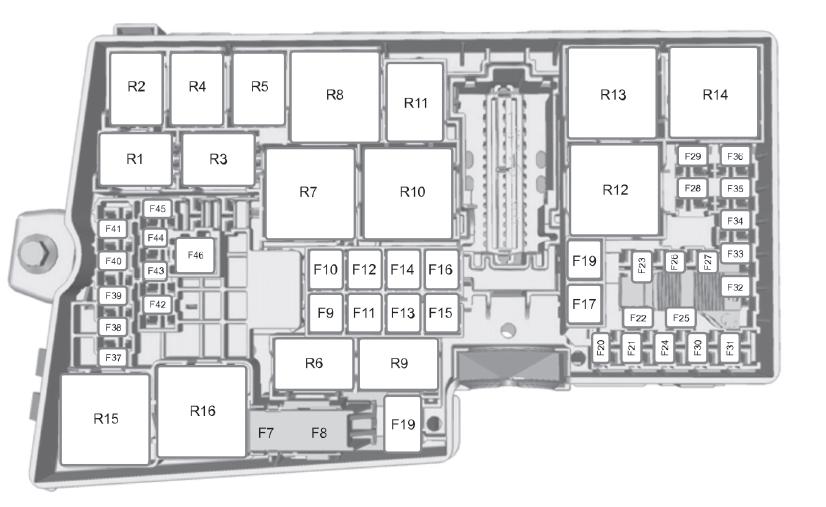 谁有福克斯发动机舱保险丝图12款自动档专业回答