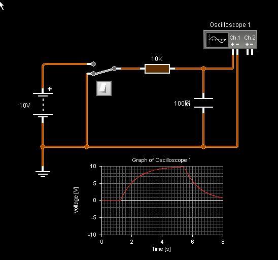 电容器充电放电电流流向问题 (能听懂的话再加15分 我