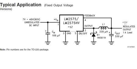 谁有48v转12v的电路图?跟12v转5v的电路图?