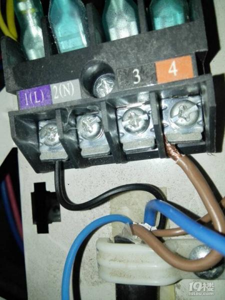 5匹tcl空调外机电线怎么接?
