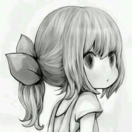 求一张卡通动漫女生的头像,要阳光一点的,小女孩,女孩