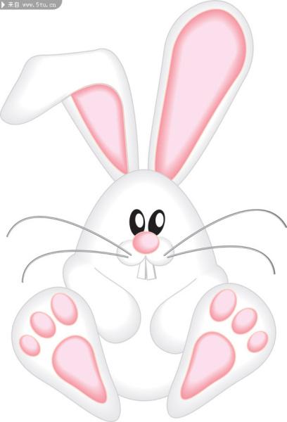 想要一个粉色的兔子头像 是一个露牙齿大笑的样子的