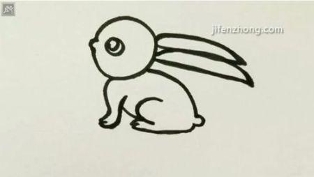 怎么画兔子?(要图片哦)
