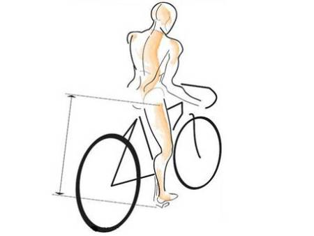 山地自行车坐垫应在什么高度