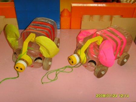 幼儿园废品手工制作,怎么做啊?还做些什么呢