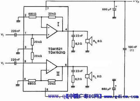 """或lm1875.傻瓜175功放模块 电路可以""""百度一下"""""""