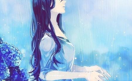 张媃雨裸体艺术_谁有伸手接雨的唯美图片?求图