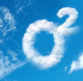 有木有人知道一朵云形状的o2是什么意思呢?