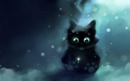 急寻一张小黑猫大图,附小图如下.以前做qq头像现在找不到了.谢谢!