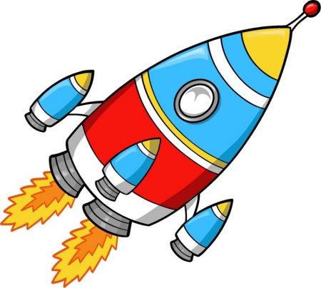火箭简笔画图片