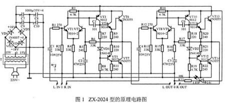 谁有带两个3dd15的功放电源的电路图?