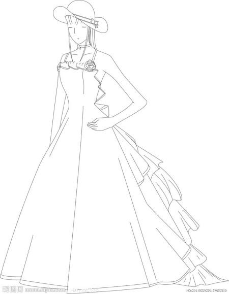 豪华蕾丝韩式韩版鱼尾拖尾皇室公主新娘婚纱晚礼服2012最新款1084