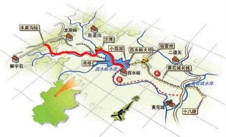 小西湖自然风景区位于北京市怀柔区西北原黄花城乡内.