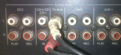 关于音响,功放,液晶电视三者的连接方法