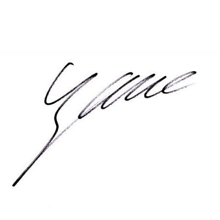 关於张靓颖的英文个性签名图片