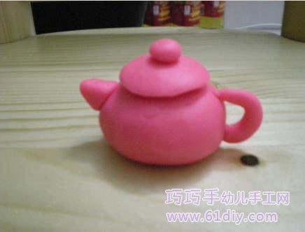 如何手工制作纸茶壶