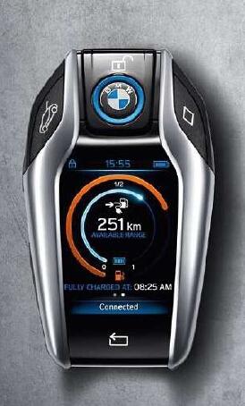 2015款宝马5系会采用类似i8跑车钥匙吗