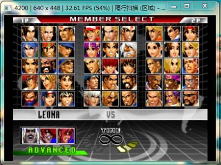 拳皇98um pc版和ps2版哪个能选择隐藏人物?