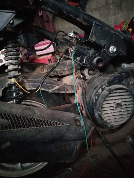 鬼火发动机怎么接线启动?帮帮忙谢谢