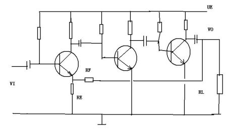 用分立元件组成电压串联负反馈电路时怎么样的