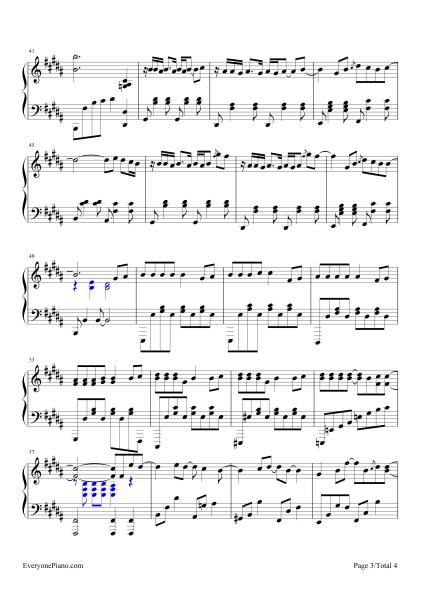告白气球钢琴谱 以及简谱