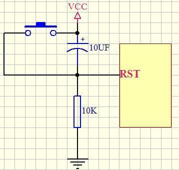 单片机c2051复位电路图 和c2051的电路图