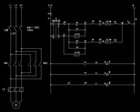 三相异步电机的定子和转子分别怎么接入电源线