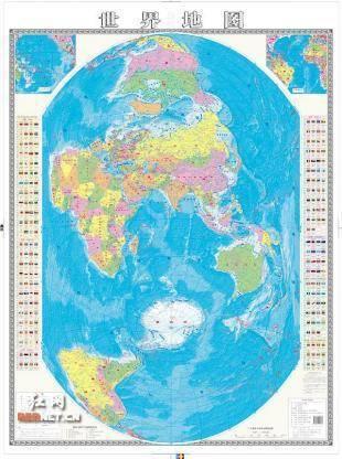 竖版世界地图的介绍