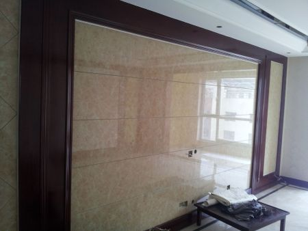 瓷砖做客厅电视背景墙可以么,有啥优缺点