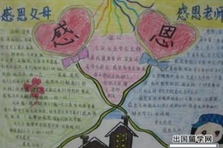 欢度38感恩父母感恩老师的手抄报怎么做