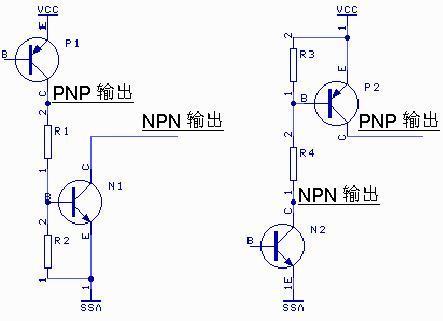 三菱fx系列的plc输入端连接npn和pnp的问题
