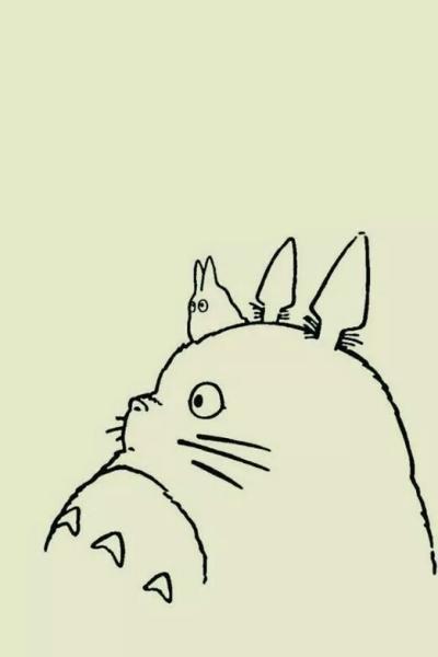 动漫龙猫可爱图片