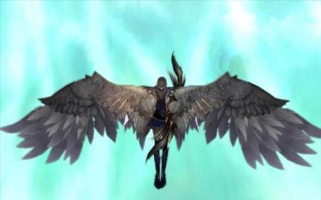 求一套情侣头像一半天使翅膀 一半恶魔翅膀谁有?