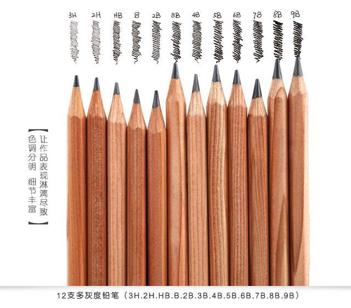 素描常用哪几种铅笔?(图1)