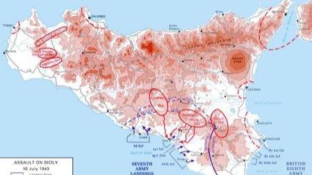 西西里岛战役,蒙哥马利为什么要推翻美军计划?的头图