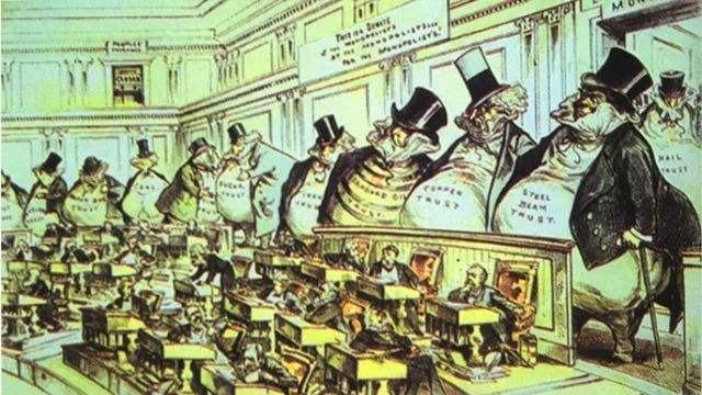 为什么美国第一部反垄断法沦为一纸空文?的头图